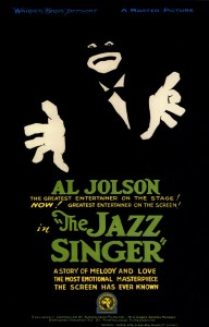 "Filmplakat zu ""The Jazz Singer"" (1927)"